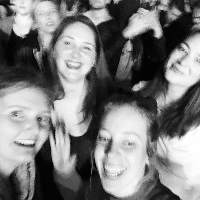 We went to the #robyn concert and we danced and danced. #momsnightout