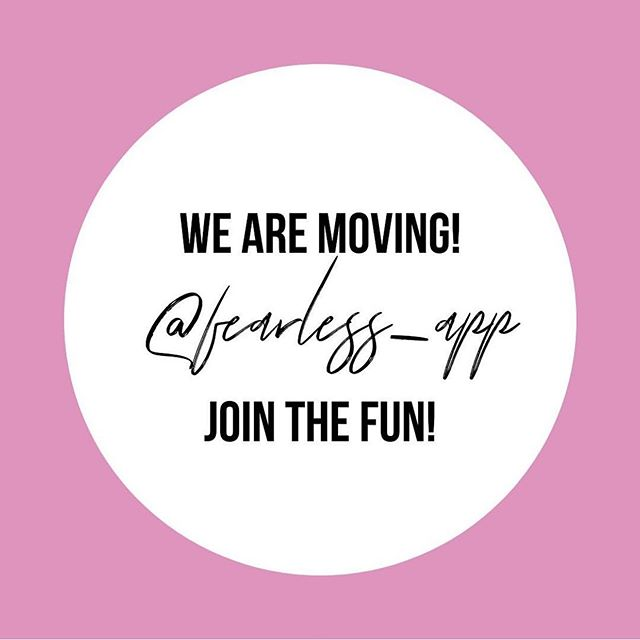 July 12th is approaching and we can't wait! The @fearless_app is going to expand outlet community internationally! Join the fun there!