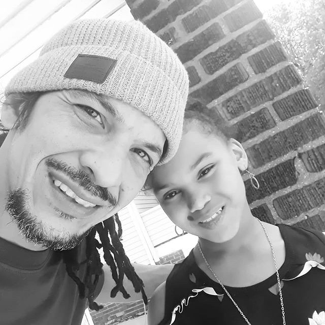 Me and my daughter... She's so beautiful!