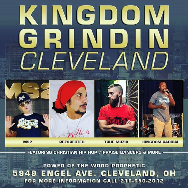 ATTENTION CLEVELAND AREA BRING YOU FAMILY OUT KIDS AND ALL TO THIS FREE FELLOWSHIP EVENT....MORE ANNOUNCEMENTS TO COME.....