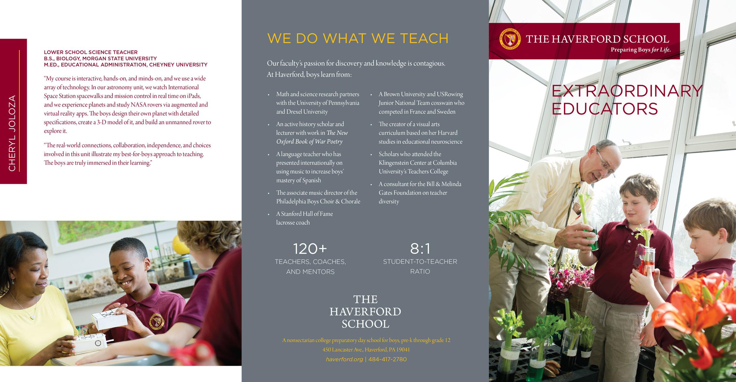 Extraordinary Educators Brochure