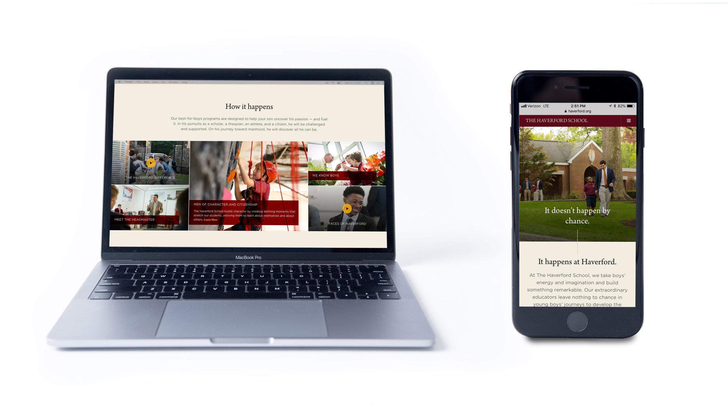 Website Homepage Editorial