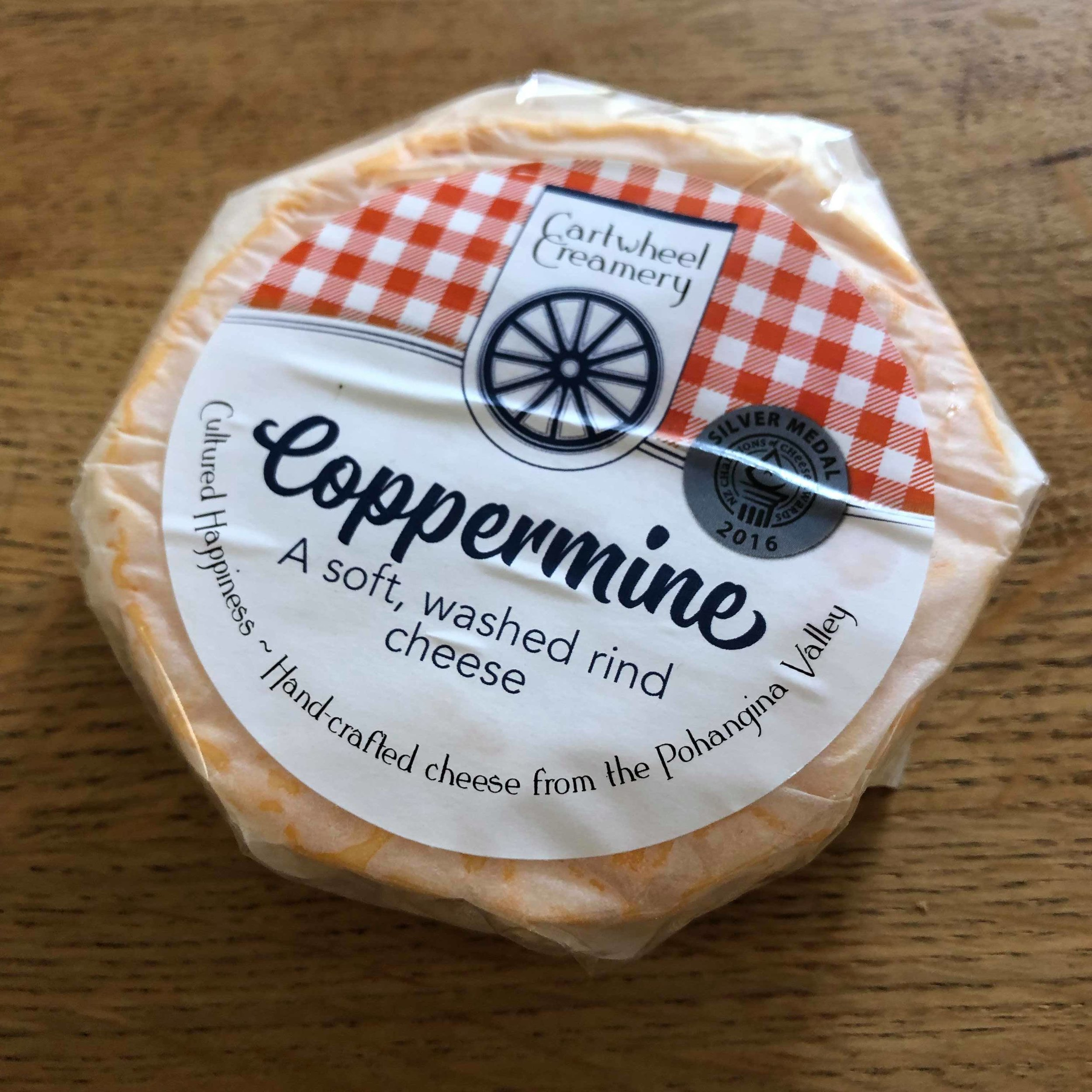 Coppermine Cartwheel Creamery - Packaging