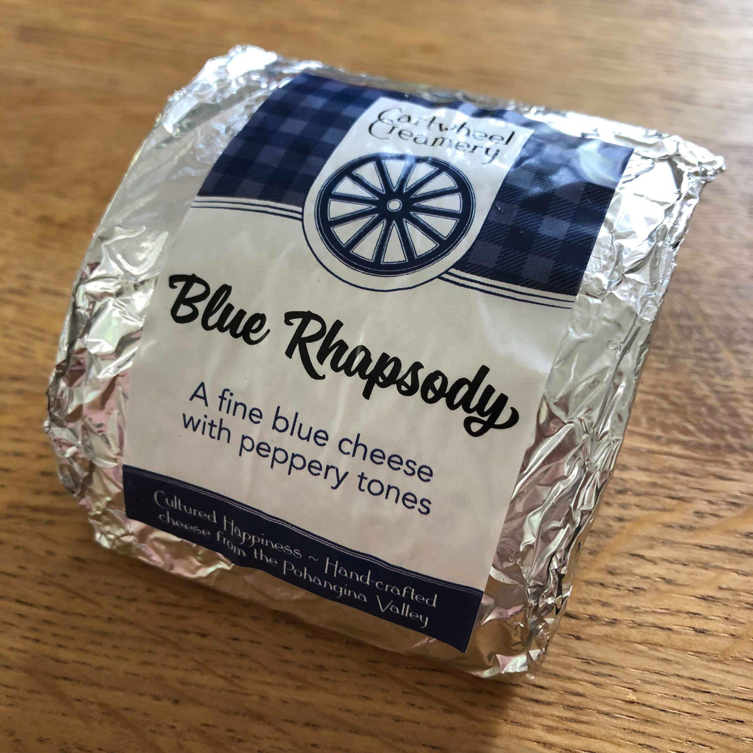 Cartwheel Creamery Blue Rhapsody - Packaging