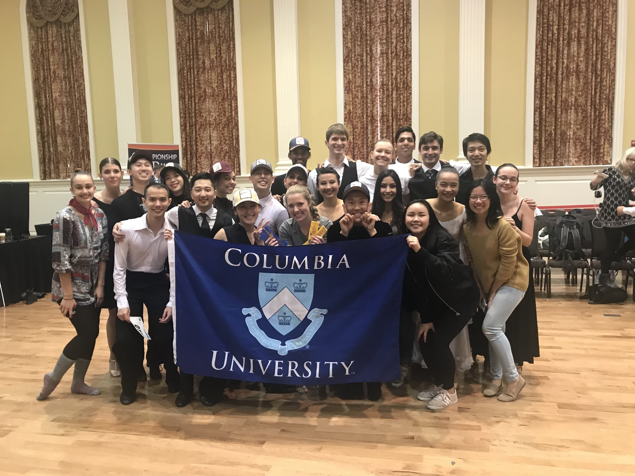 Who we are - We are the premier ballroom dance organization at Columbia University, and we do everything we can to support our members in their dance journeys.We offer classes and workshops, practice space, a one-on-one mentorship program, and the opportunity to compete. We are a fun-loving, social group that welcomes all new members — no partner or prior dance experience necessary to join!