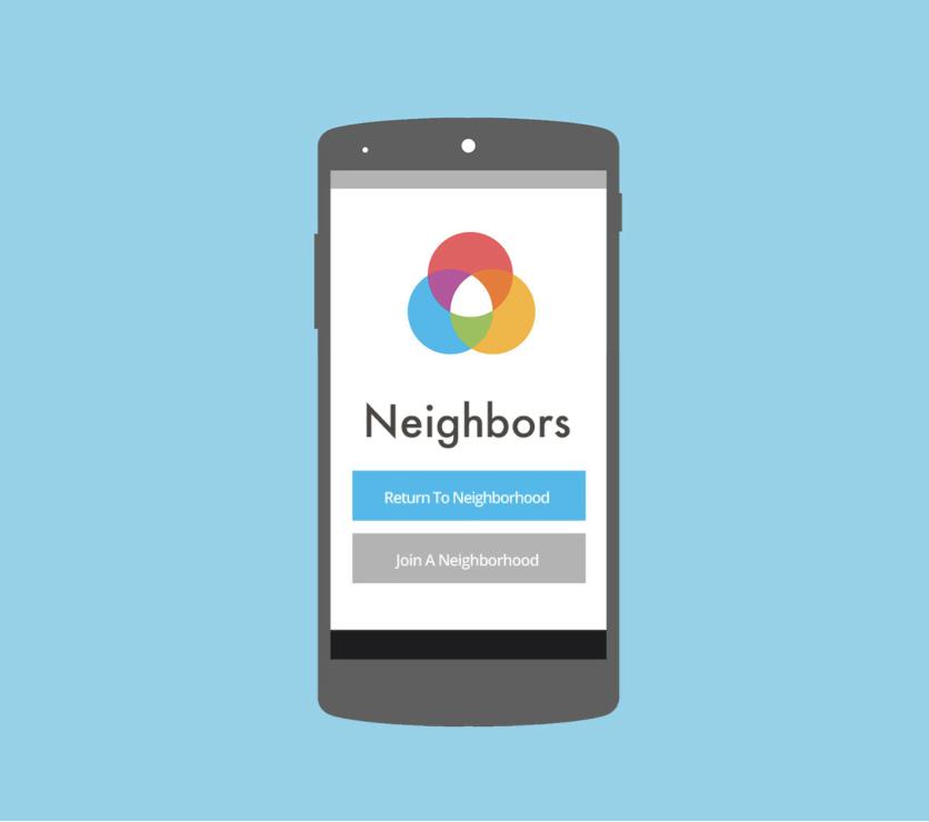 Neighbors App for Local Communities -