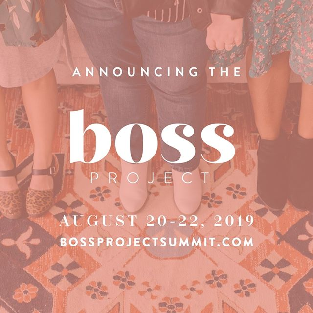 Guess what we're bringing back?!⁠ ⁠ After helping just under 20,000 people (!!) with our first two summits we decided it's time for another. And this one is a-m-a-z-i-n-g. ⁠ ⁠ Coming up August 20th we our hosting the third...⁠ ⁠ Boss Project Summit sponsored by @mydubsado is happening August 20th - 22nd.⁠ ⁠ 3 days. 25+ speakers. All Virtual. 🎉⁠ ⁠ We are super excited to open up our virtual stage again to some pretty incredible speakers and sessions. If you've got a small business you need to be here.⁠ ⁠ We know how tiring it is to search and scroll and click and download and read and listen and subscribe to ALL THE THINGS so you can learn what you need to for your business. That's why we did all that searching for you and brought the best of the best to your laptop (or phone or desktop or tablet).⁠ ⁠ Click the link in our bio or head to bossprojectsummit.com to register FOR FREEEEEE