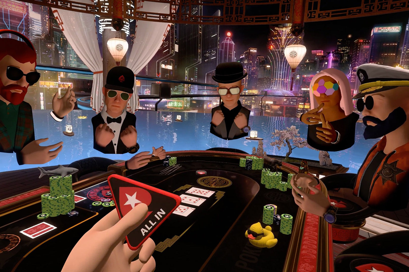 VR POKER BOOKINGS - Click Here