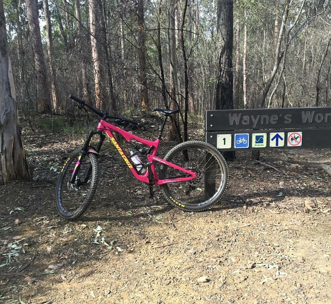 Current Bike - Santa Cruz Bronson