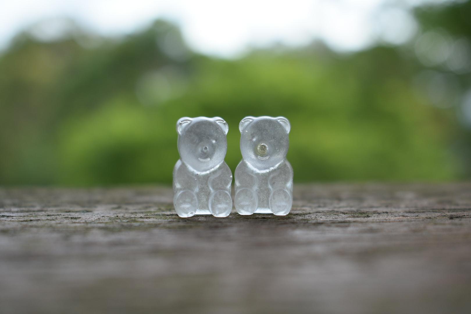 Gummy Bear Earrings!