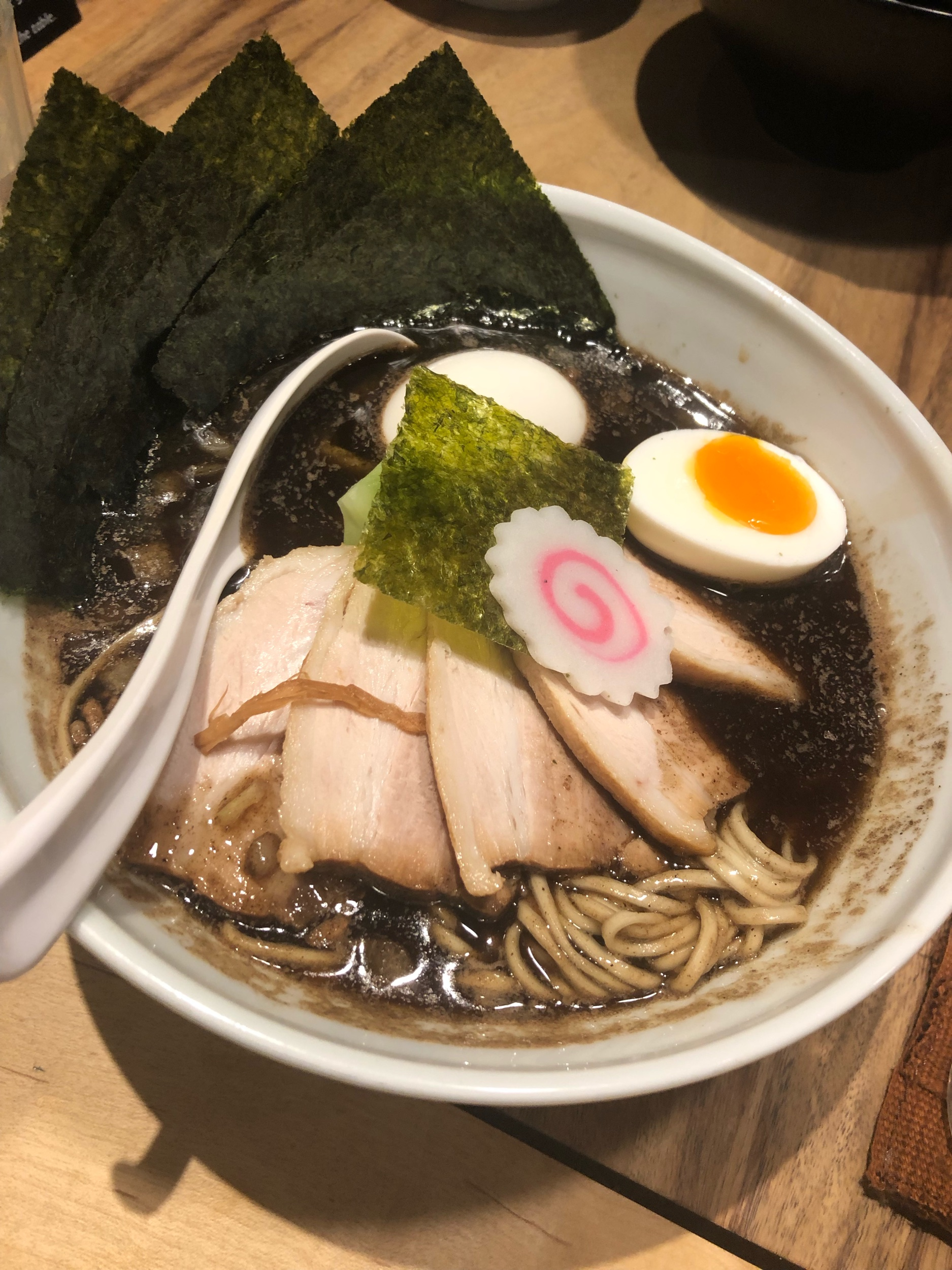 My Shoyu Ramen with all the toppings