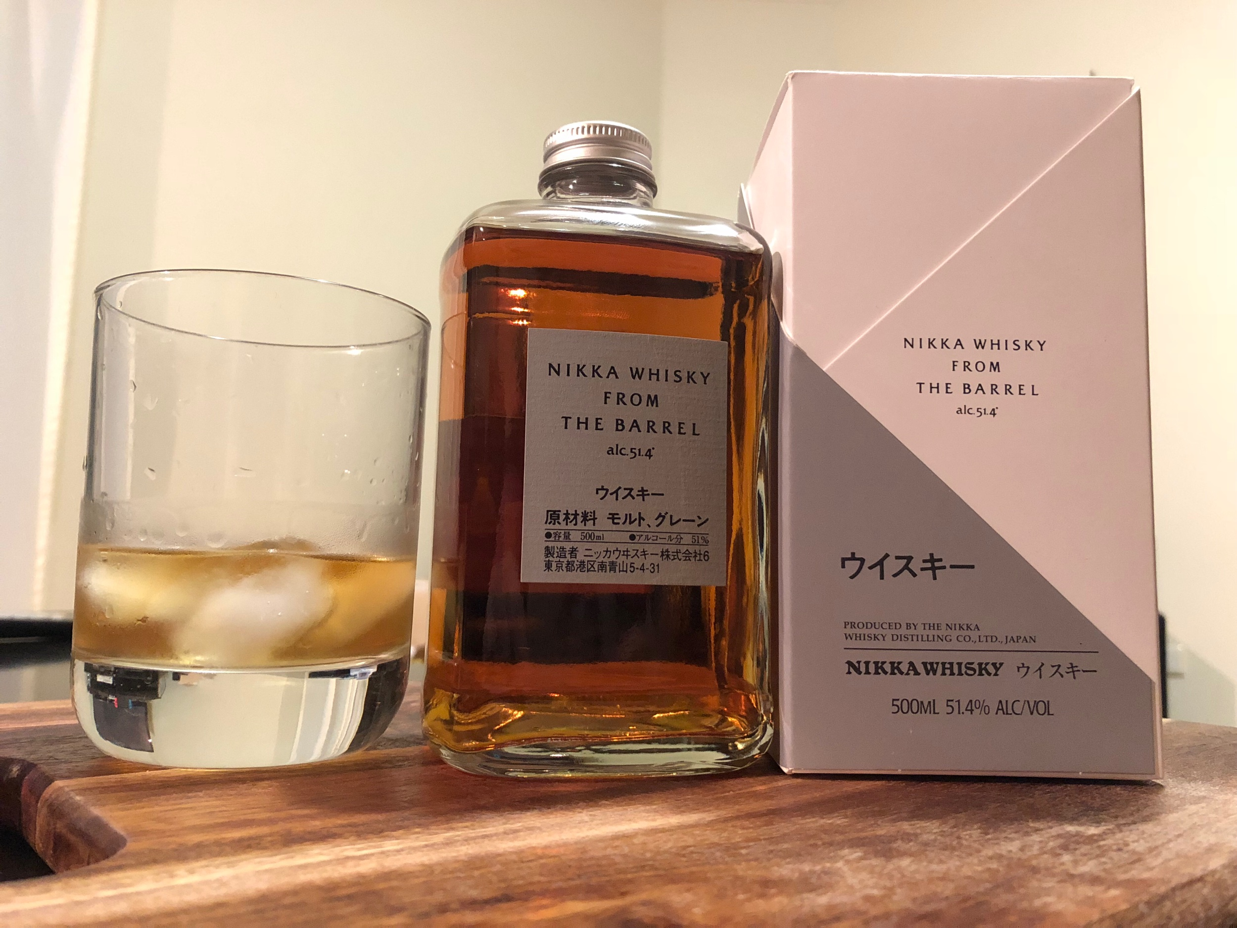 Our favourite - Nikka Whiskey from the Barrel