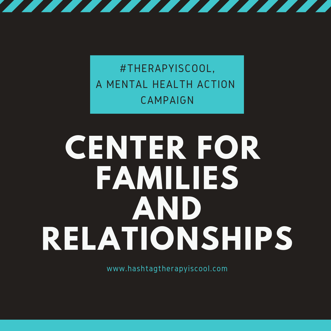 The  #therapyiscool  mental health action campaign is taking a trip to Philadelphia,PA in support of community efforts to make mental health treatment more accessible for families. . Proceeds from the purchases of #therapyiscool tote bags during the month of April will be donated to Center for Families and Relationships. . Below is a little information provided by our friends at  Center for Families and Relationships  :  ① Name of the organization: Center for Families and Relationships  ② Founded in: 1994  ③ Services provided: CFAR is a not-for-profit community counseling center, located in Northeast Philadelphia, serving the needs of individuals, couples, families and children. CFAR is the only non-profit agency in Philadelphia in which our entire clinical staff is trained/certified in Marriage & Family Therapy. CFAR provides Individual, family, group, couples, and art therapy.  ④ Population served: CFAR serves the needs of individuals, couples, families and children.  ⑤How does Center for Families and Relationships use their donated funds: CFAR solely relies on grants and outside funds to keep the organization going.  To learn more about Center for Families and Relationships, please visit  https://www.cfarcounseling.org