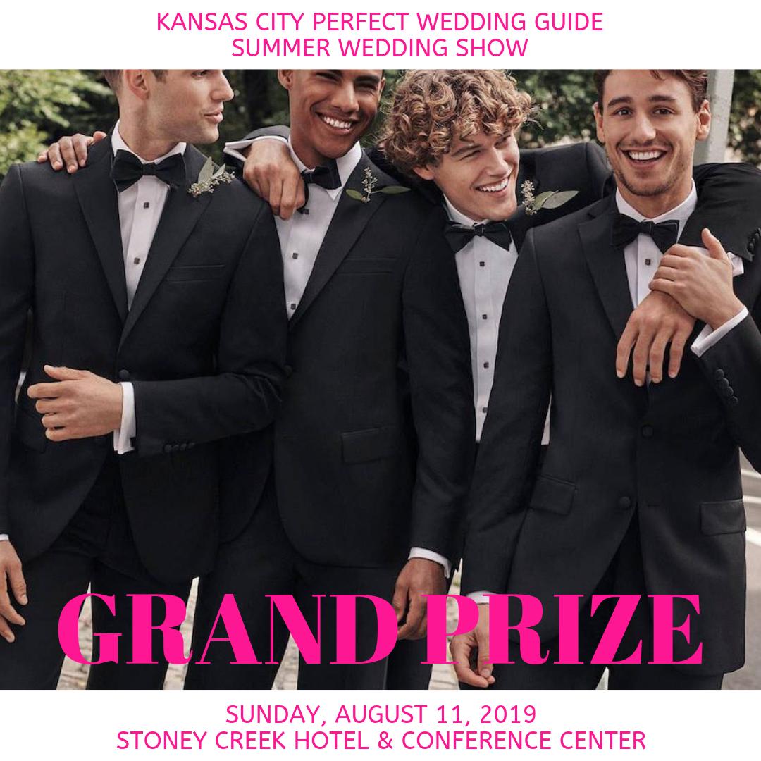 3 Tuxedo/Suit Rental Packages from  Men's Wearhouse