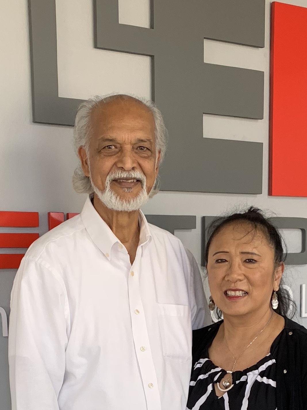 Arlyn and client CFO Ramlogan