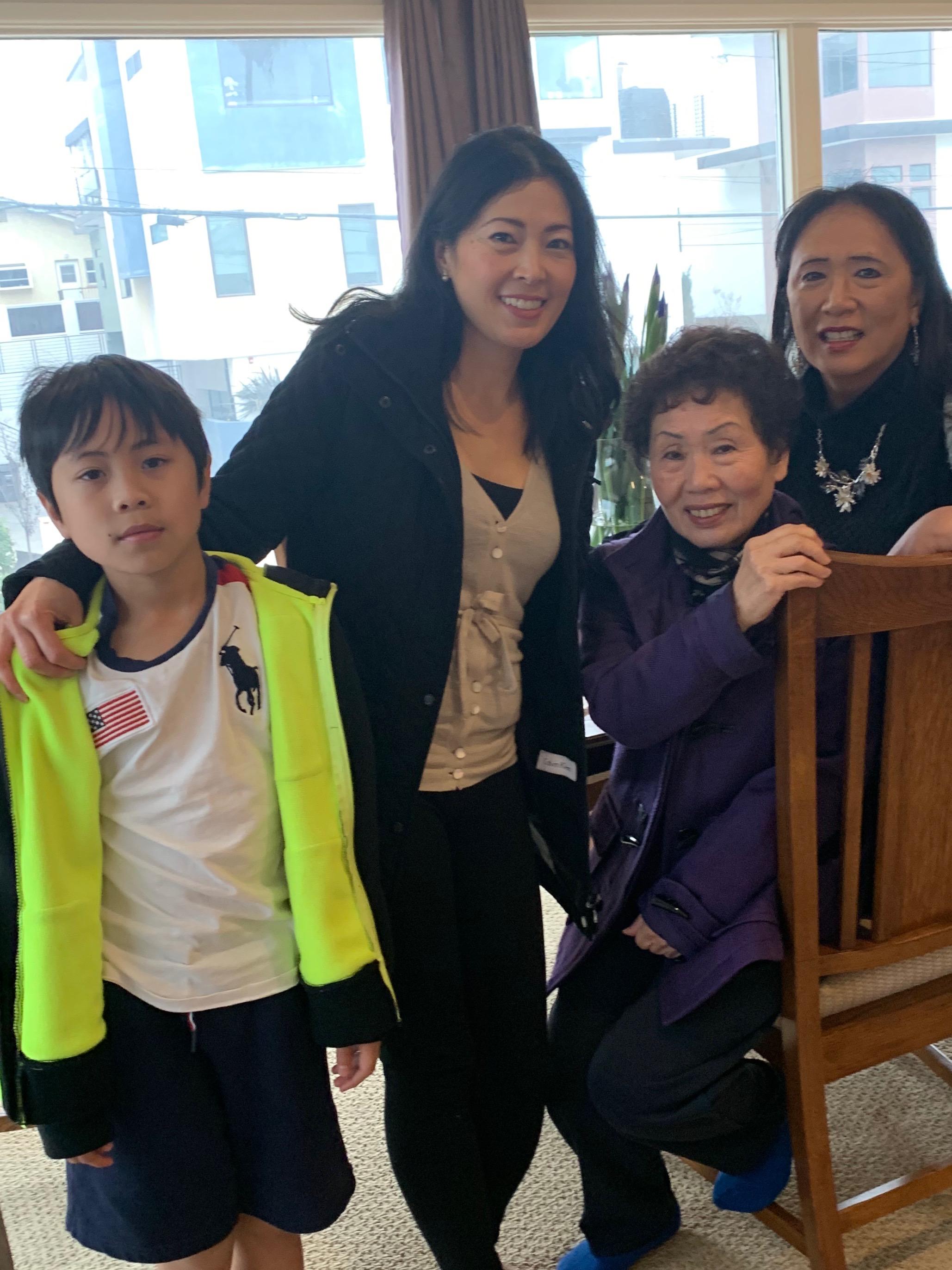 Kyle, Phuong, Natsu and Arlyn