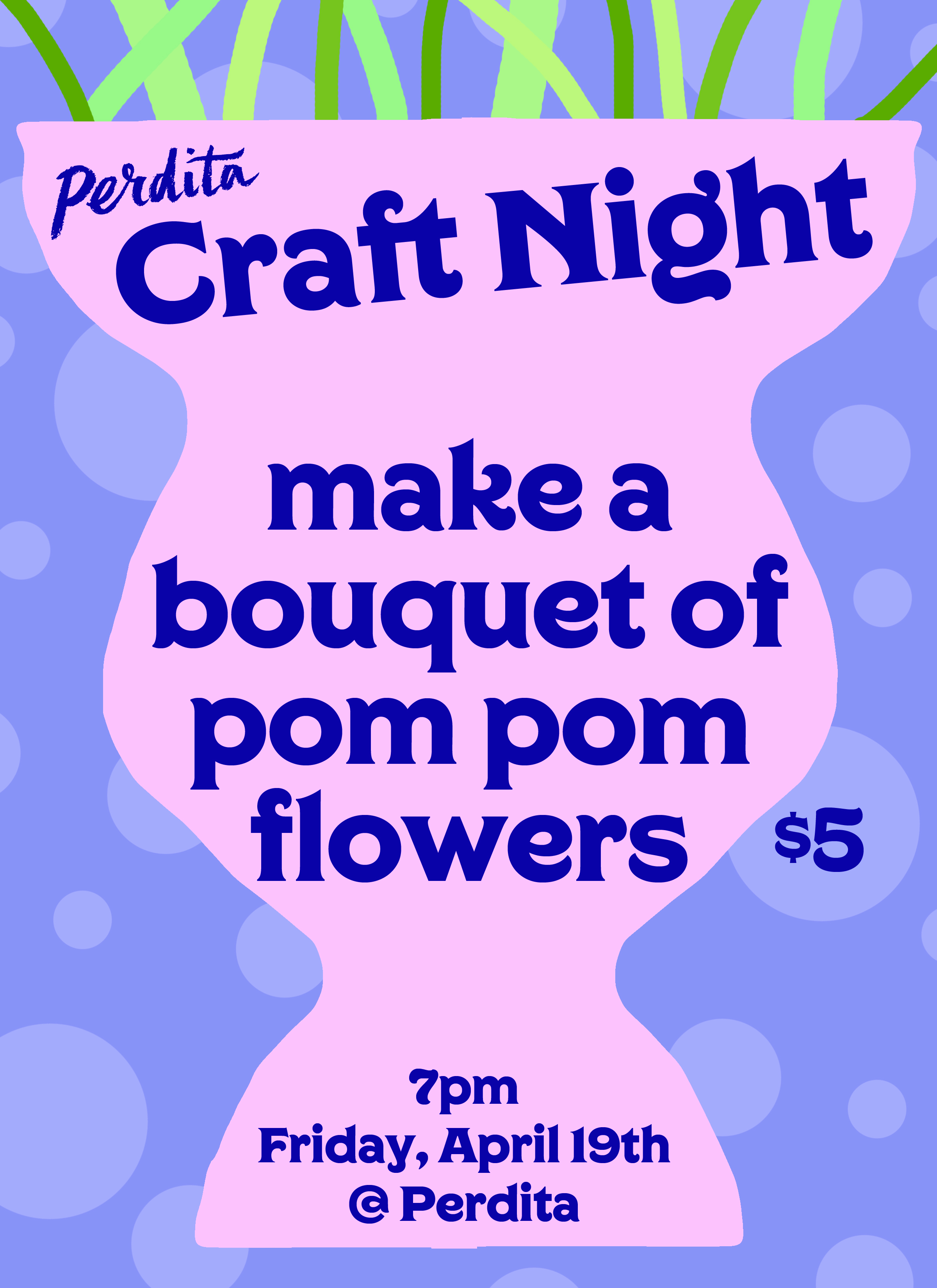 craft night perdita pom pom flowers.jpg