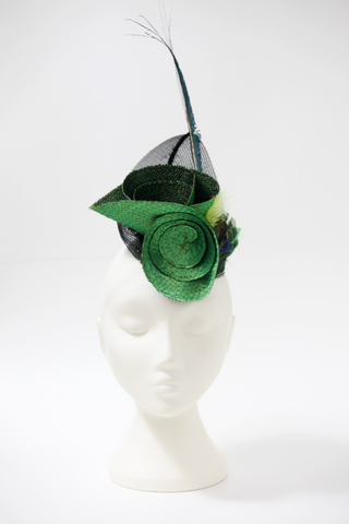 Emerald green, front