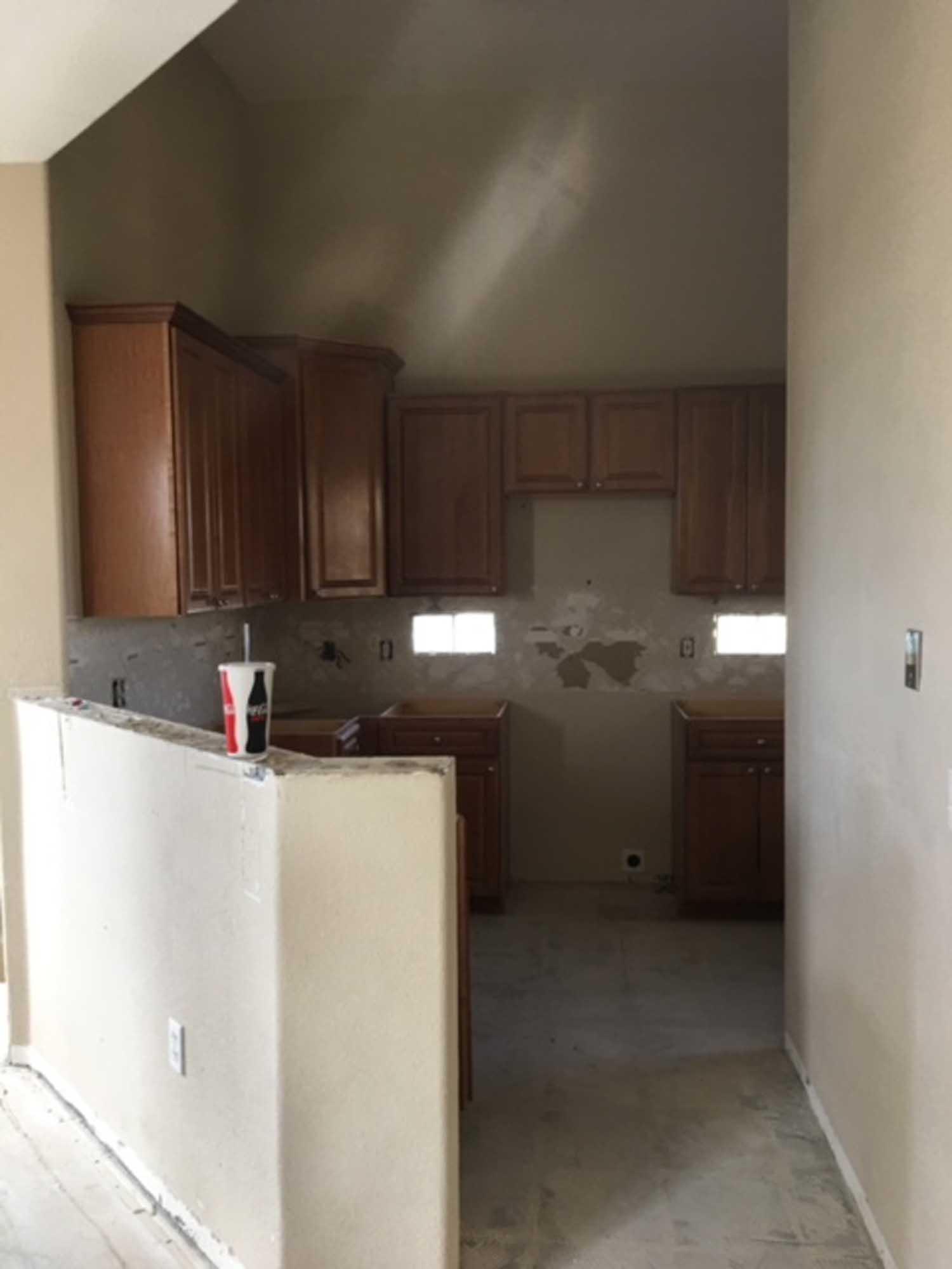 Renovation of kitchen
