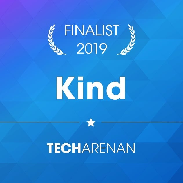"With 400 nominated Nordic companies, we are very excited to share that Kind has been selected as one of the finalists in the Techarenan Serendipity Challenge and one of only 24 companies to be pitching for the jury to become ""Startup of the Year""!"
