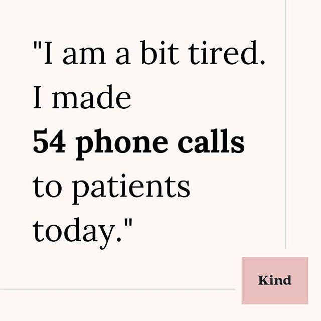 That was the words of a nurse I spoke with today. According to her, this isn't an unusual number of calls made in one day.  What if she could replace some of those phone calls with text messages instead? Write to the patient in a communication channel that is safe, GDPR-compliant and easy to use.  A kind way of communicating.  #sjuksköterska #barnmorska #sjukvård #digitalvård #nurse #midwife #healthcare