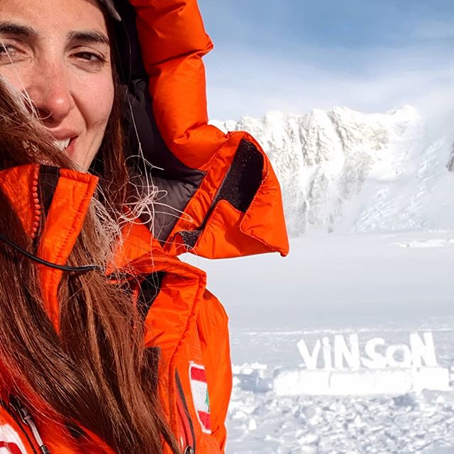 Throwback on my expedition to Mt Vinson in Antarctica last December. . This morning I was thinking that not even a year has passed on climbing Vinson and I have already managed to climb Everest, and complete the seven summits. A dream that I have been working on for 7 years now. . The thing that you don't know is that I waited 14 months after summiting Denali on June 22nd 2017, my 5th summit out of seven, till I got my Vinson then Everest funded. Those 14 months were a roller coaster of challenges. How am I going to live and pay my bills? But getting a full time job would stop me from pursuing my mountains, my dream. Such situations were hard to manage especially when I had to refuse teaching full time at universities in Lebanon and Europe. Although I needed that job but I knew once I roll in, I will not be able to complete my seven summits. . Today I am proud that patience led my way and faith strengthened my decisions in order to keep it on and fight for my dream. . If you are feeling this way right now, think about how important is your dream for you. Imagine your life 10 years from now, what choice would you prefer to have chosen? . Share your experience