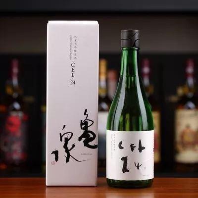 ▲龜泉 純米大吟釀 原酒