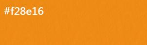 杏黄【R:250 G:142 B:22】