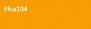 橙皮黄【R:252 G:161 B:4】