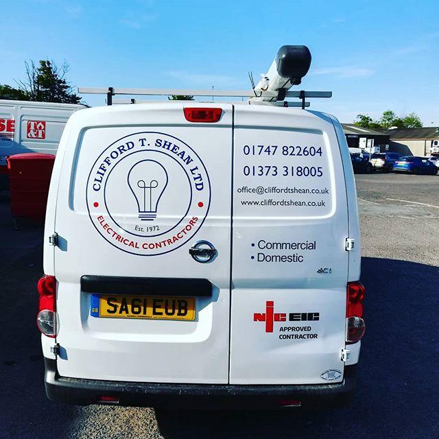 New van, new logo #sparky
