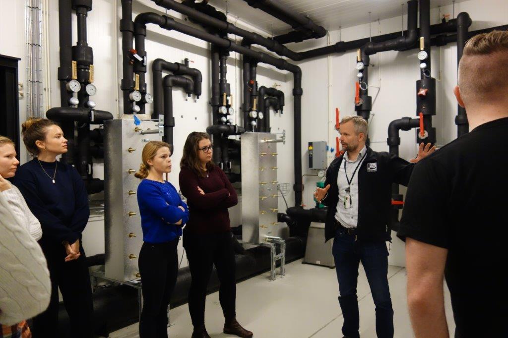 BERGEN - Visiting Stiftelsen Industrilaboratoriet (ILAB)'s new RAS-facilities at Marineholmen