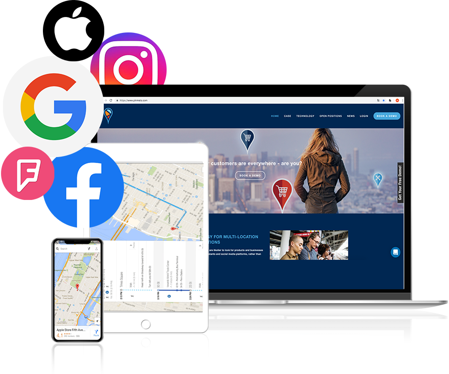 pinmeto technology - PinMeTo's technology platform is the toolbox that multi location organisations need to provide a consistent and waterproof consumer experience throughout the digital universe.