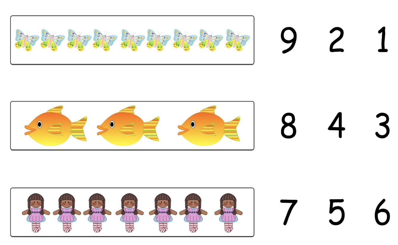 Problem :  Connecting objects and numbers is tricky. Eg Grouping things into 3's or 4's is often difficult or slow compared to peers.
