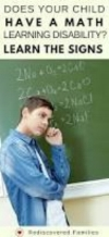 Dyscalculia self test teenager