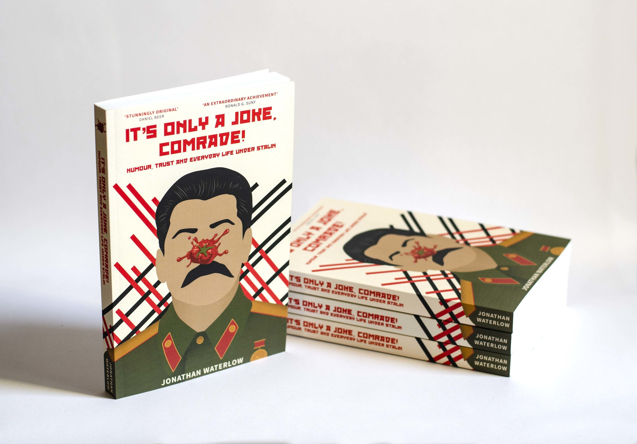 Only a Joke Comrade Jonathan Waterlow Book