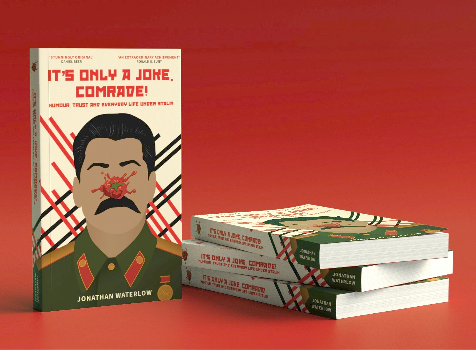 It's Only A Joke, Comrade! - An Amazon Bestseller in Russian History, It's Only a Joke, Comrade! uncovers the secret world of political jokes under Stalin's dictatorship.