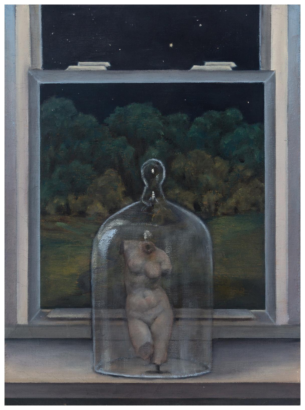 """18.  Venus   Oil on canvas. 2015. 9"""" x 12"""""""