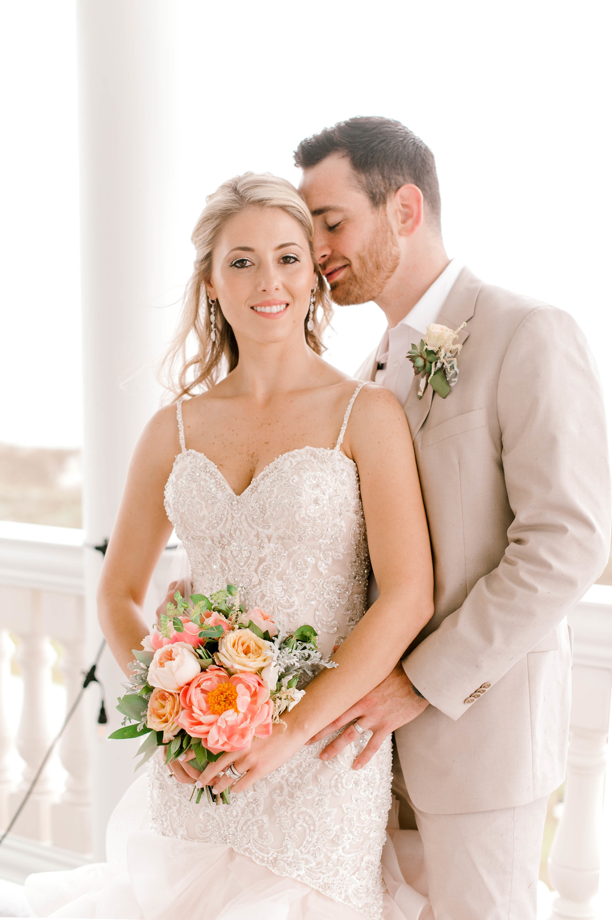 Sunset Beach, SC Wedding - Sunset Beach, South Carolina Beach Wedding. Hosanna Wilmot Photographer is a Myrtle Beach Wedding Photographer specializing in Wedding Photography