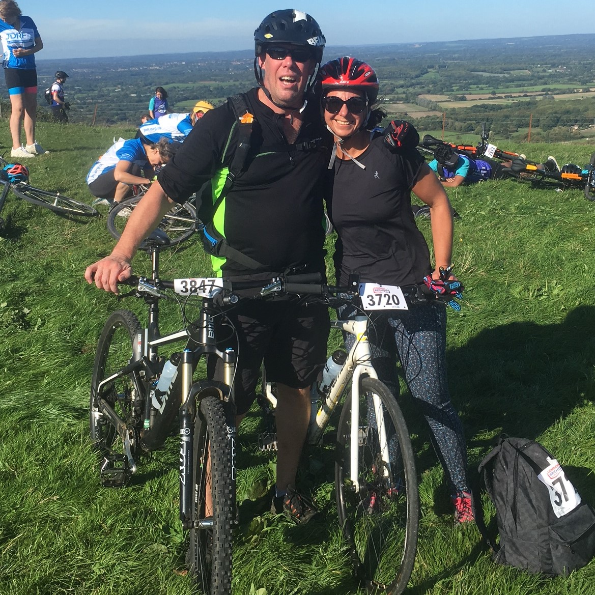 Lesley & ian's london to brighton - Raised £820