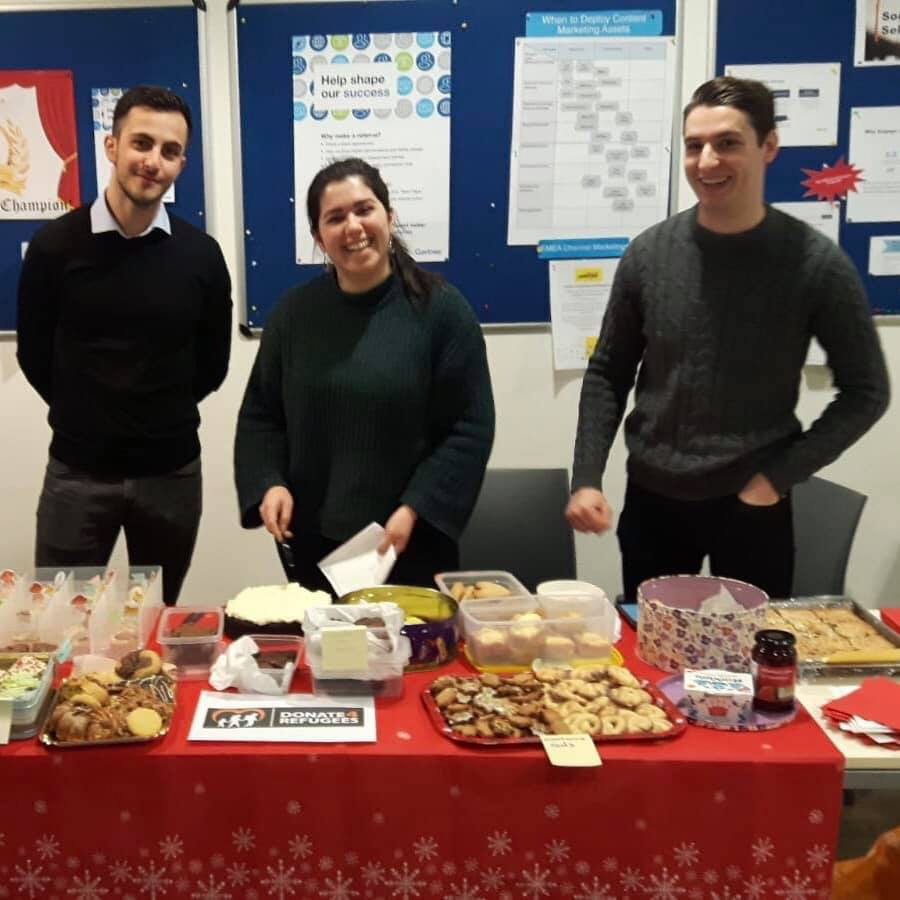 Gartner bake sale - Raised £1,200