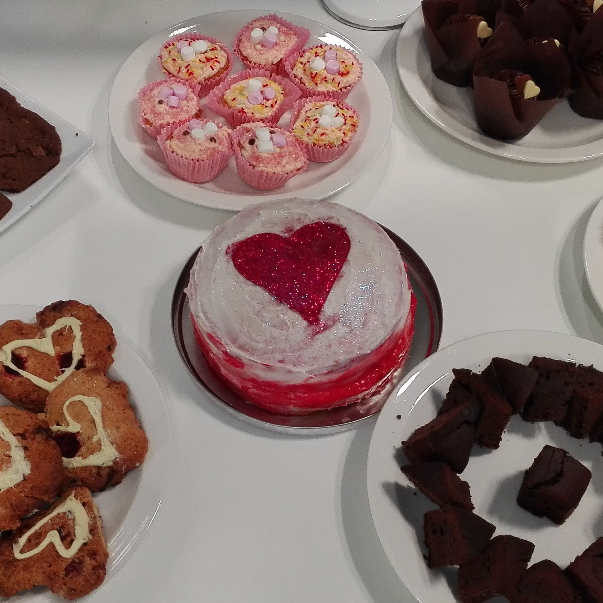 investigo's valentine bake sale - Raised £300