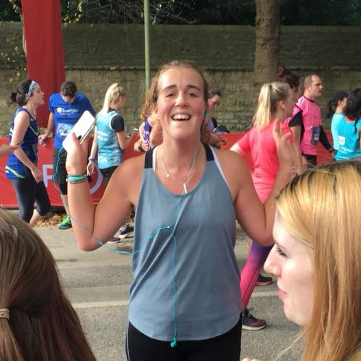 Bianca's oxford half marathon - Raised £220