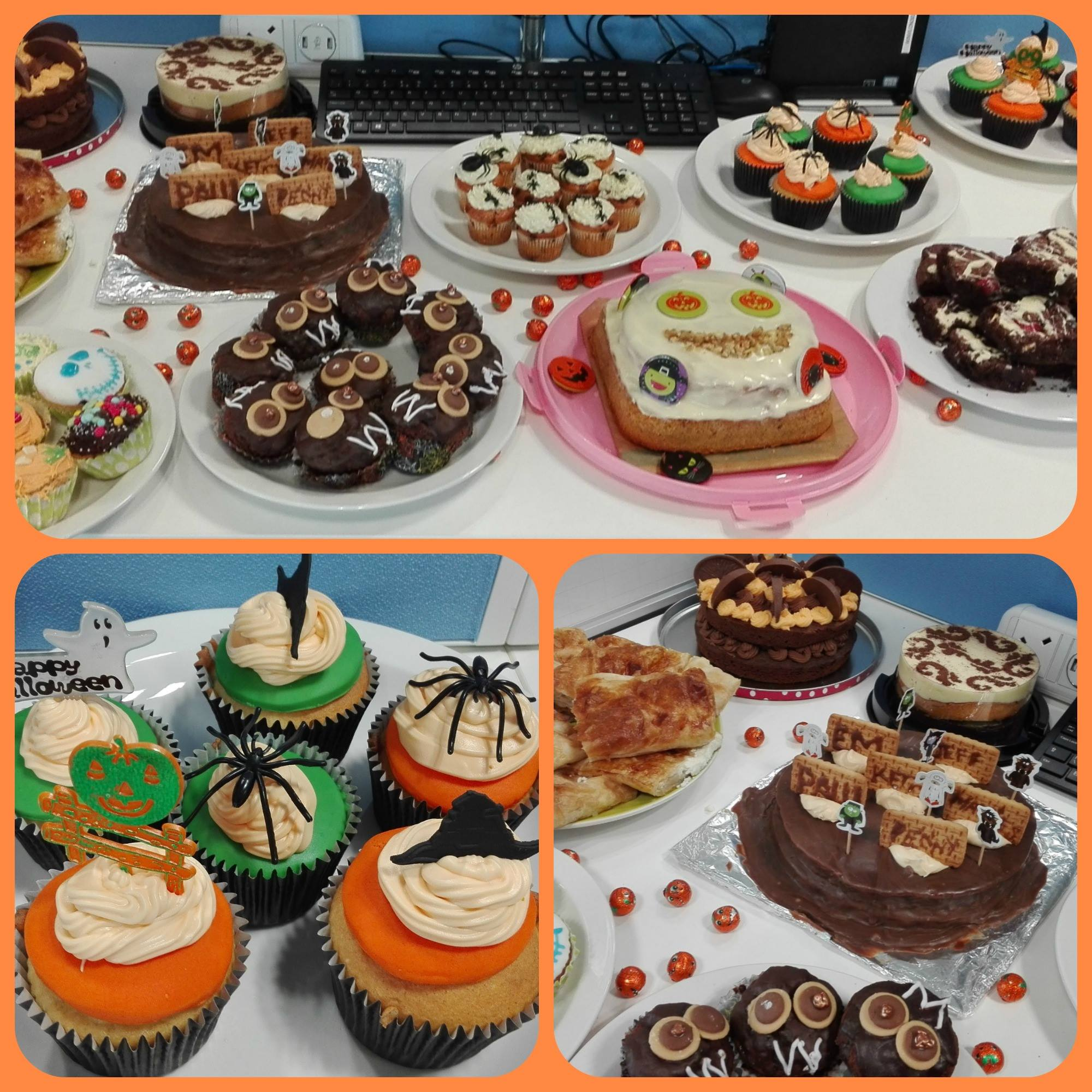 investigo's bake sale - Raised £200