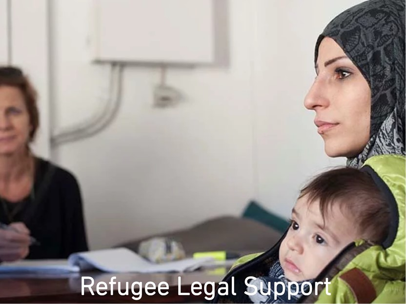 """refugee legal support - www.refugeelegalsupport.org/volunteer""""Volunteers are an important and valued part of Refugee Legal Support whether they are volunteering in the UK or at our legal clinic in Athens."""""""