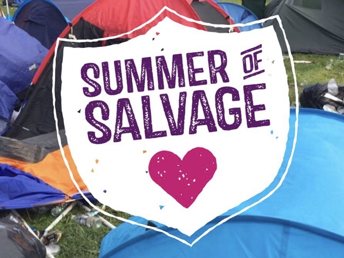 """refugee compassion - rcuk.org.uk/summerofsalvage/""""We need volunteers to come with us to music festivals around the UK and help salvage camping equipment such as sleeping bags, roll mats and blankets for onward distribution to refugees in Calais, Europe and beyond!"""""""