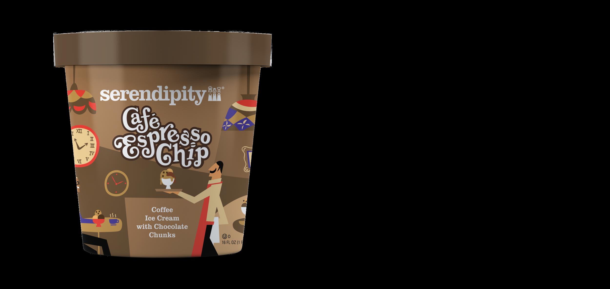Cafe Espresso Chip - Coffee Ice Cream with Chocolate Chunks
