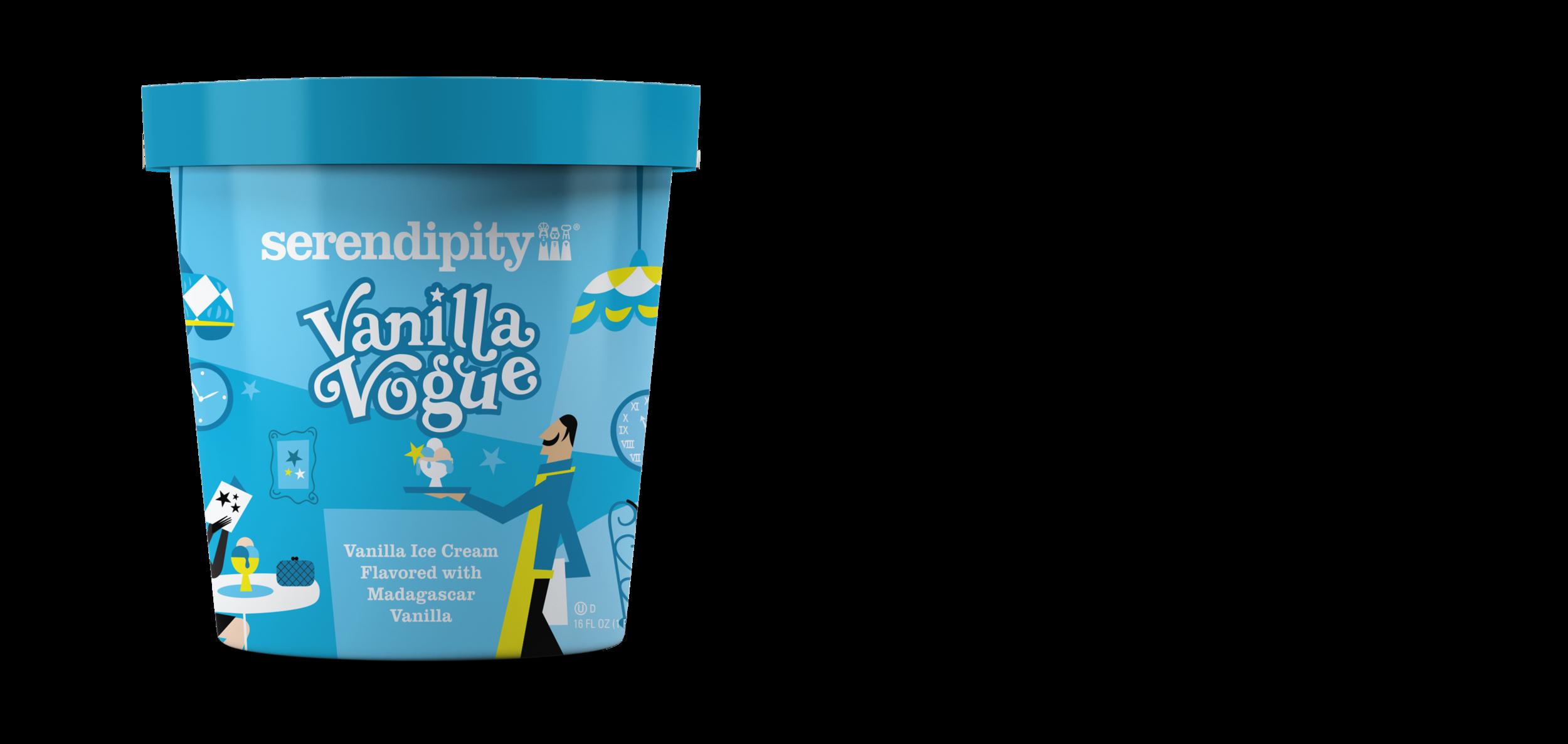 Vanilla Vogue - Vanilla Ice Cream Flavored with Madagascar Vanilla