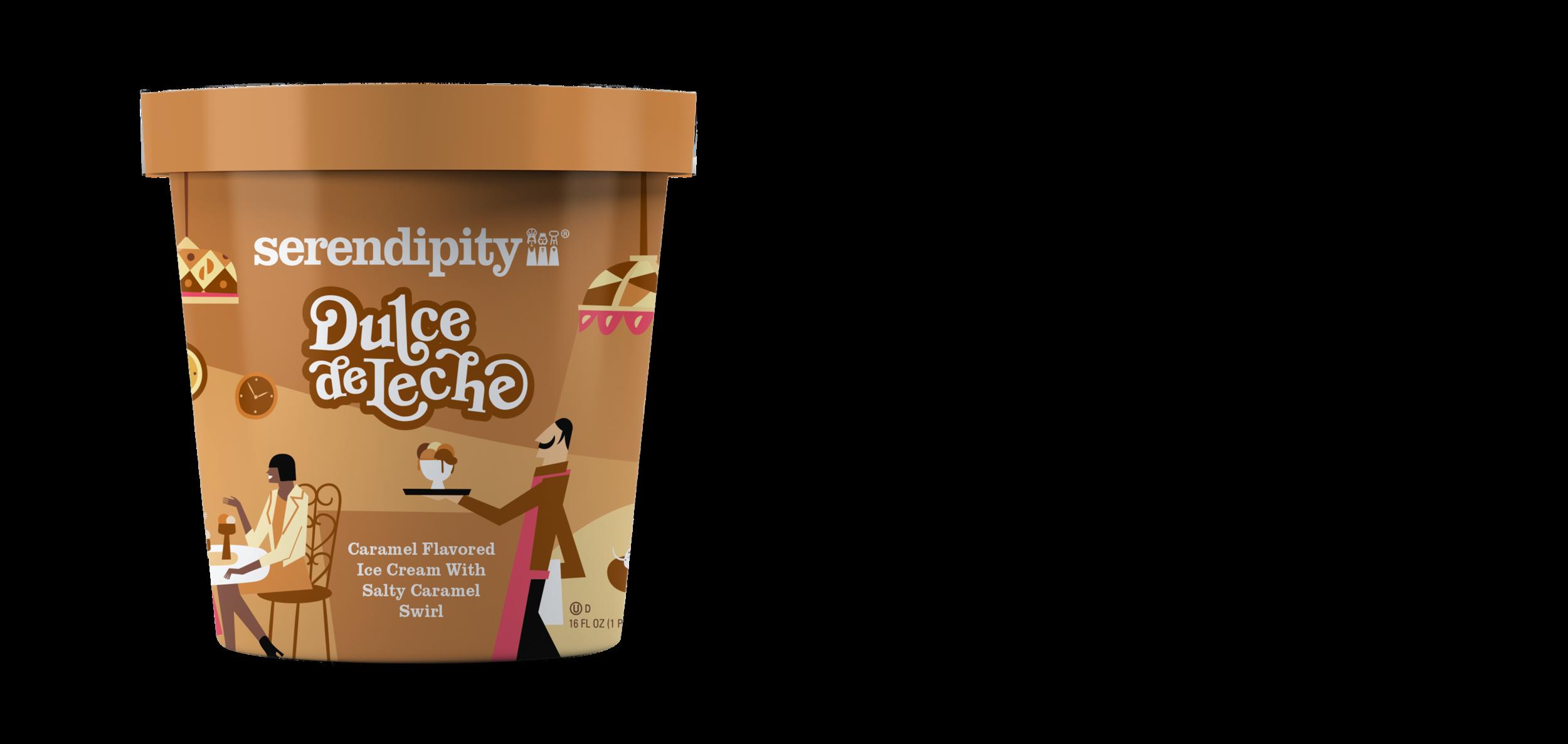 Dulce de Leche - Caramel Flavored Ice Cream with Salty Caramel Swirl