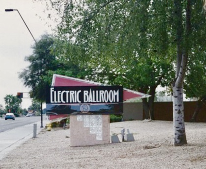 The iconic Electric Ballroom in Tempe, later to become the home of New School for the Arts & Academics.
