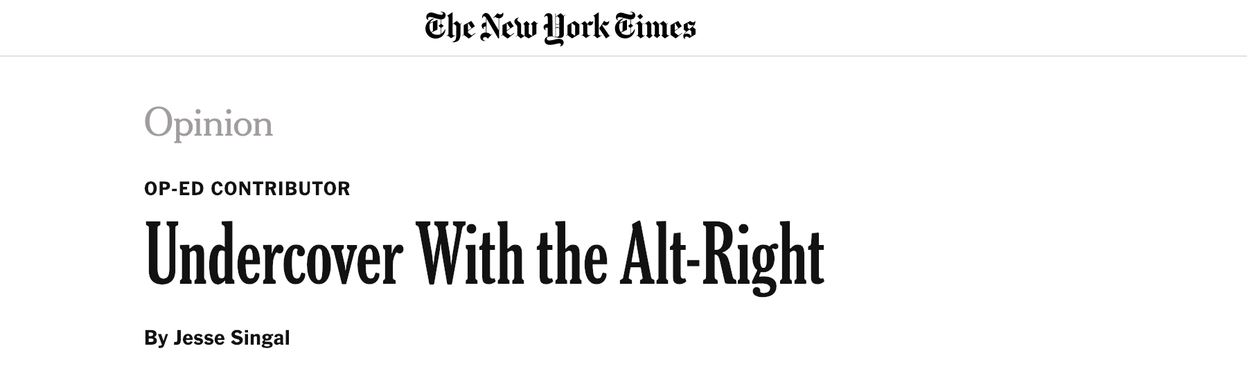 Featured in The New York Times…